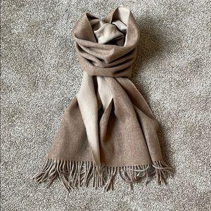 Hermès double side 100% cashmere scarf, new
